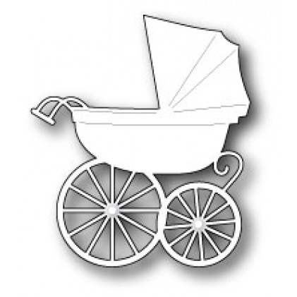 Memory Box Stanzschablone - Baby Carriage