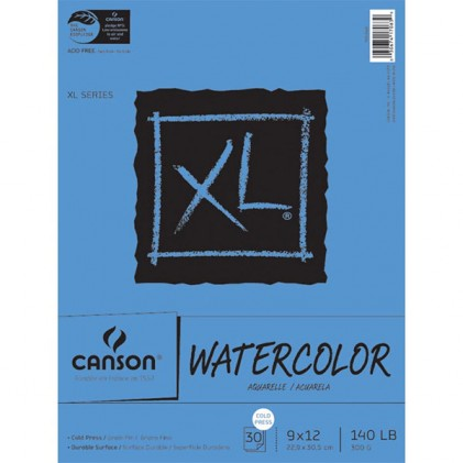 Canson Aquarellpapierblock 30 Blatt