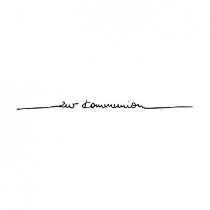 """Karten-Kunst Schriftzug \""""Zur Kommunion\"""" (Anne)"""