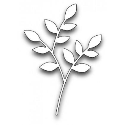 Poppy Stamps Stanzschablone - Lorelai Leaf