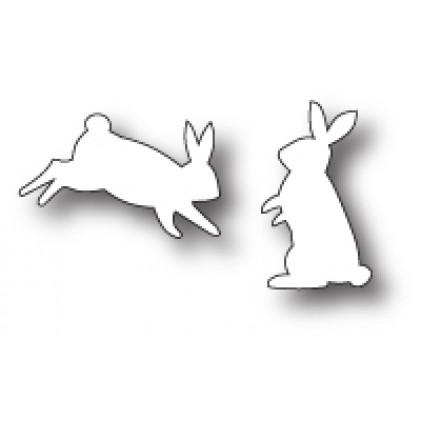 Poppy Stamps Stanzschablone - Bunny Buddies