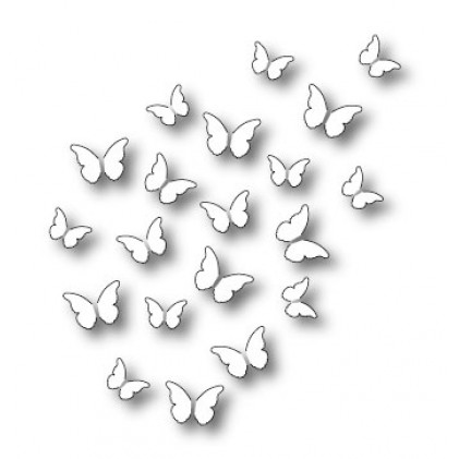 Memory Box Stanzschablone - Peaceful Butterfly Wings