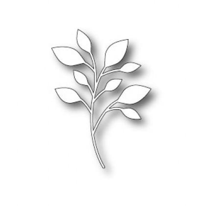Poppy Stamps Stanzschablone - Massa Leaf Background