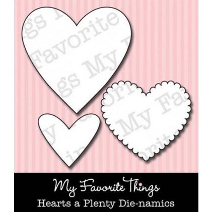 My Favorite Things Die-Namics Die - Hearts A Plenty