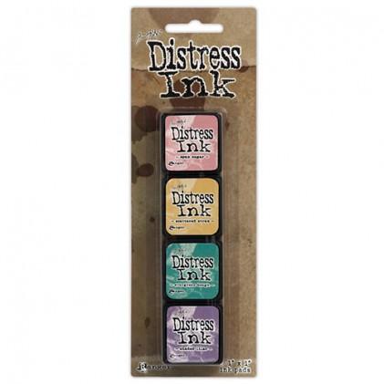 Distress Mini Ink Stempelkissen Kit #4