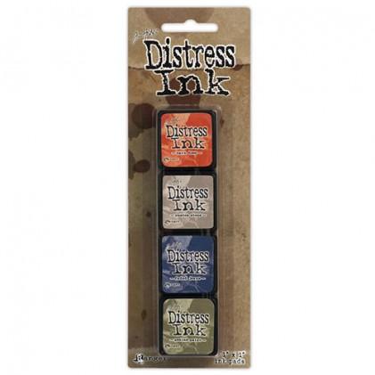 Distress Mini Ink Stempelkissen Kit #5