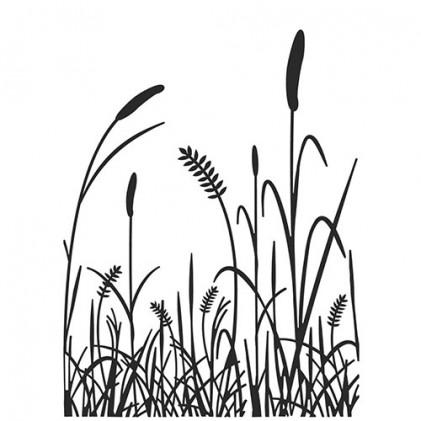 Darice Hintergrund-Prägeschablone - Grass