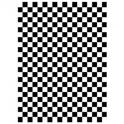 Darice Hintergrund-Prägeschablone - Checkered