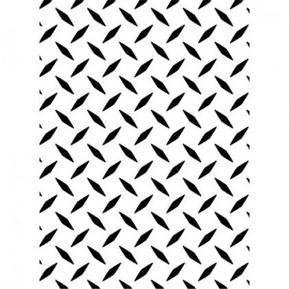 Darice Hintergrund-Prägeschablone - Diamond Plate