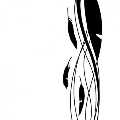 Darice Hintergrund-Prägeschablone - Feathers on Side