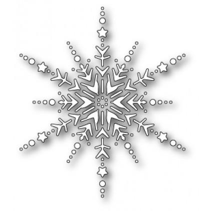 Memory Box Stanzschablone - Dazzling Snowflake