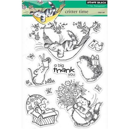 Penny Black Clear Stamps - Critter Time