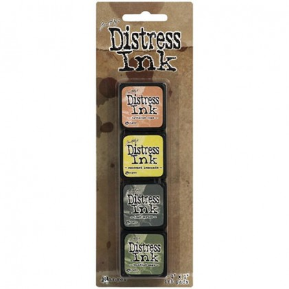 Distress Mini Ink Stempelkissen Kit #10