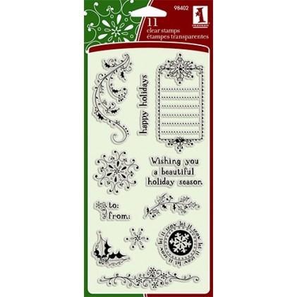 Inkadinkado Clear Stamps - Doodle Holidays