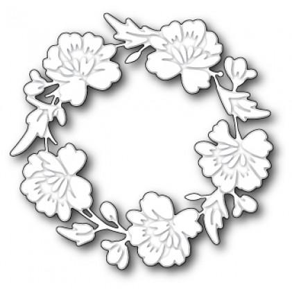 Memory Box Stanzschablone - Bloomington Wreath