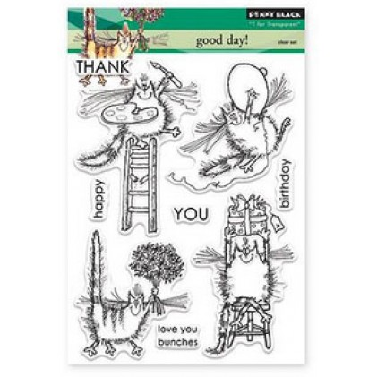 Penny Black Clear Stamps - Good Day!