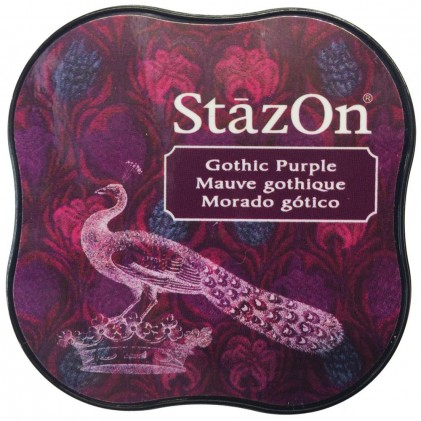 StazOn Midi Ink Pad Stempelkissen - Gothic Purple