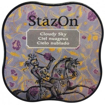 StazOn Midi Ink Pad Stempelkissen - Cloudy Sky
