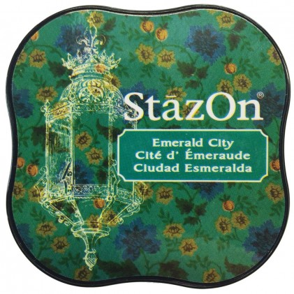 StazOn Midi Ink Pad Stempelkissen - Emerald City