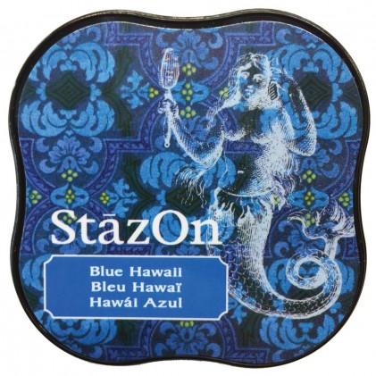 StazOn Midi Ink Pad Stempelkissen - Blue Hawaii