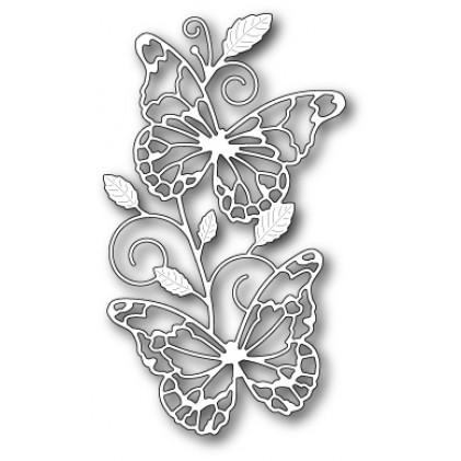 Memory Box Stanzschablone - Waltzing Butterflies