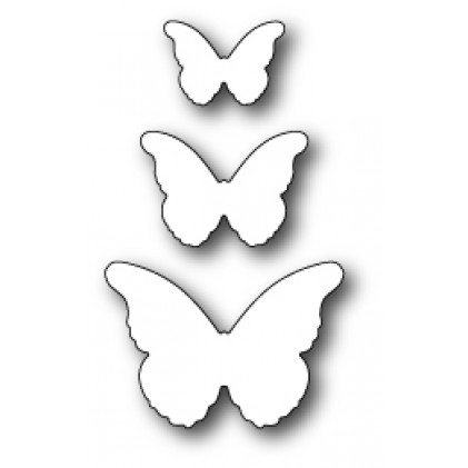 Memory Box Stanzschablone - Cascadia Butterfly Trio