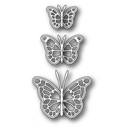 Memory Box Stanzschablone - Leavenworth Butterfly Trio