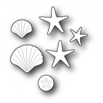 Memory Box Stanzschablone - Seaside Treasures