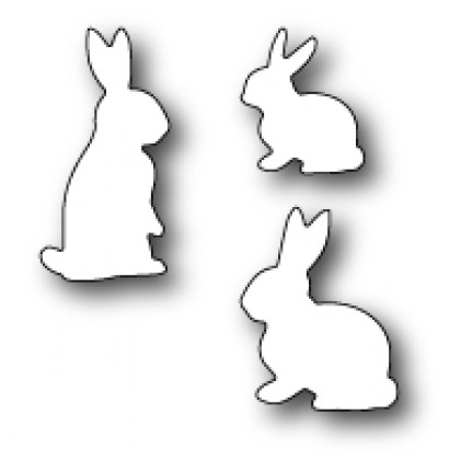 Memory Box Stanzschablone - Springtime Bunnies