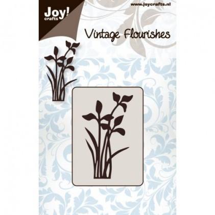 JoyCrafts Stanzschablone - Blumen und Blätter Nr. 1