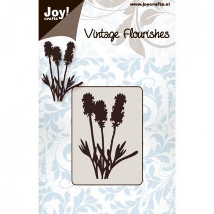 JoyCrafts Stanzschablone - Blumen und Blätter Nr. 3
