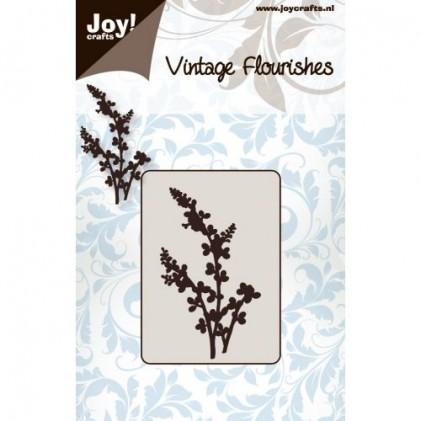 JoyCrafts Stanzschablone - Blumen und Blätter Nr. 4
