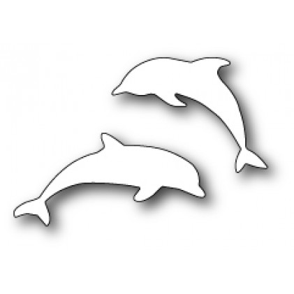 Memory Box Stanzschablone - Diving Dolphins