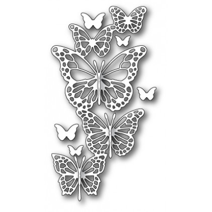 Memory Box Stanzschablone - Butterfly Exhibit