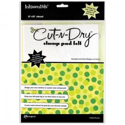 Cut-N-Dry Stamp Pad Felt