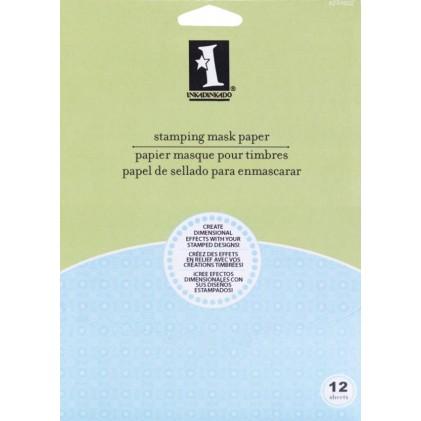Inkadinkado Stamping Mask Paper 12,7 x 17,8 cm.