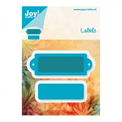 JoyCrafts Stanzschablone - Label 2