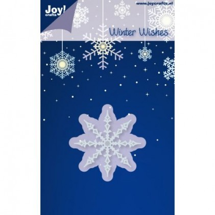 JoyCrafts Stanzschablone - Winter Wishes Snowflakes 1