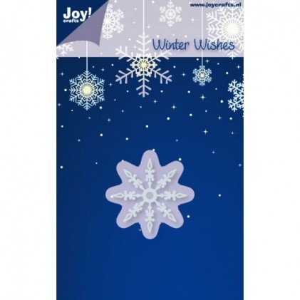 JoyCrafts Stanzschablone - Winter Wishes Snowflakes 2