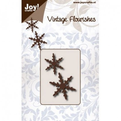 JoyCrafts Stanzschablone - Vintage Flourishes Snowflake