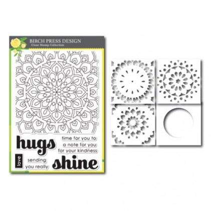 Birch Press Stempel & Template Kit - January 2019 Item of the Month