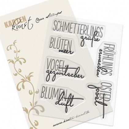 "Karten-Kunst Clear Stamp Set - Capri ""Frühlingserwachen"""
