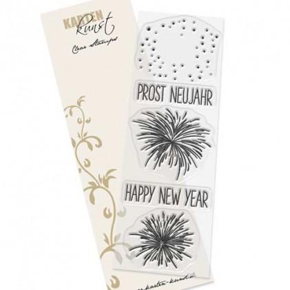 Karten-Kunst Clear Stamp Set - Feuerwerk