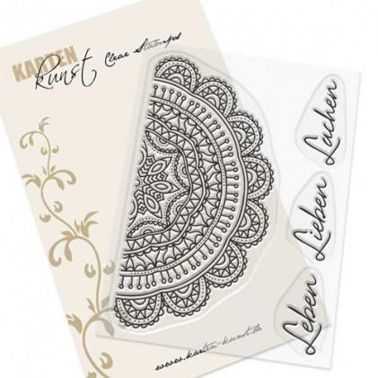 Karten-Kunst Clear Stamp Set - Mandala Leben