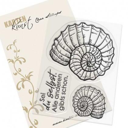 Karten-Kunst Clear Stamp Set - Ammonit
