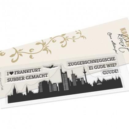 Karten-Kunst Clear Stamp Set - Skyline Frankfurt