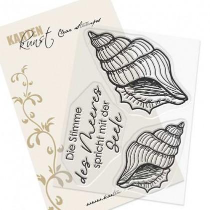 Karten-Kunst Clear Stamps KK-0193 - Meeres-Schnecken