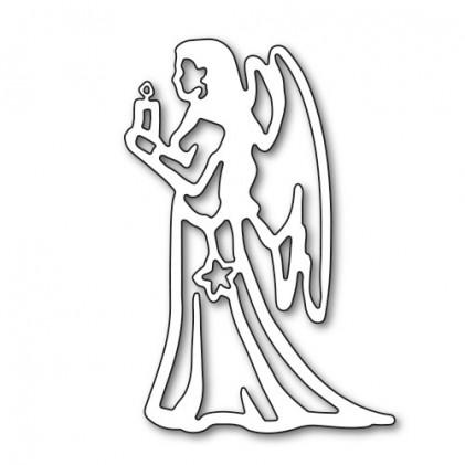 Karten-Kunst Stanzschablone - Angel Indriel