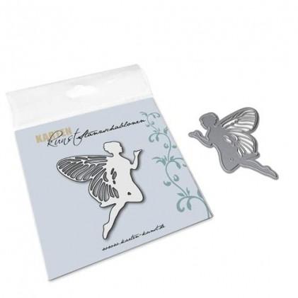 Karten-Kunst Stanzschablone - Flying Fairy