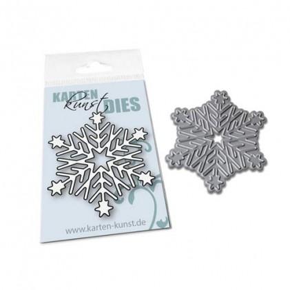 Karten-Kunst Stanzschablone - Mini Snowflake